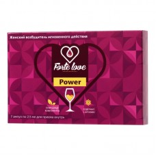 Капли для женщин Forte Love Power, 7 ампул по 2,5 мл