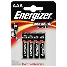 Батарейки мизинчиковые ENERGIZER тип ААА 4 шт