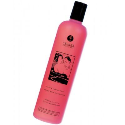 Гель для ванны и душа Shunga «Экзотические фрукты» съедобный с расслабляющим эффектом 500 мл