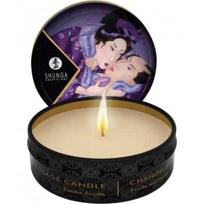 Массажная свеча-аромамасло Shunga экзотические фрукты 30 мл