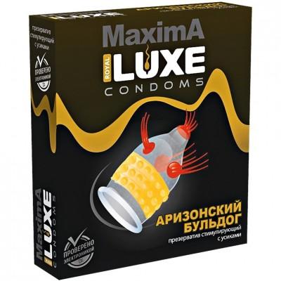 Презерватив Аризонский Бульдог Luxe MAXIMA