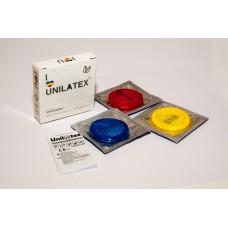 Презервативы цветные с ароматом мультифрукт Unilatex Multifruits