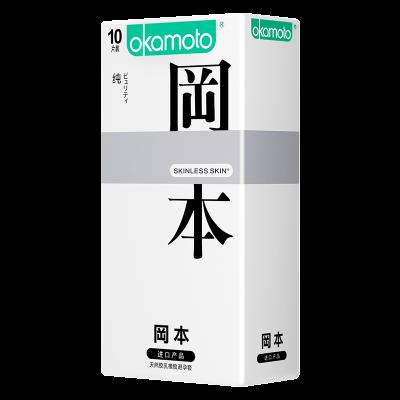 Презервативы Окамото Skinless Skin Puriti №10 Сверх-тонкие, сверх-чувствительные