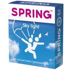 Презервативы Spring Sky Light ультратонкие №3