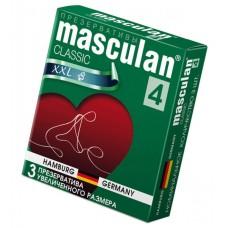 Презервативы Увеличенного размера Masculan Classic 4(XXL) розового цвета