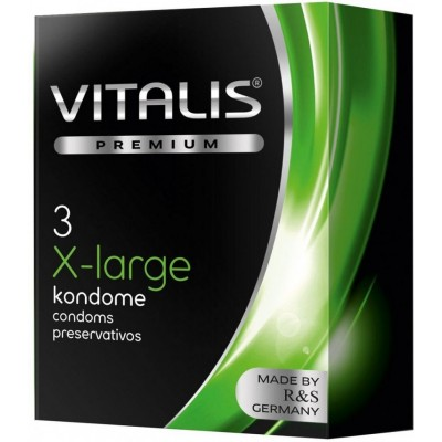 Презервативы VITALIS Large увеличенного размера