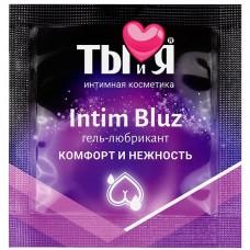 Гель-любрикант Ты и Я ''Intim Bluz'' анальный 4г