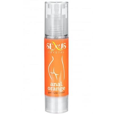 Анальный гель-лубрикант Sexus на водной основе с ароматом апельсина Crystal Orange Anal 60 мл
