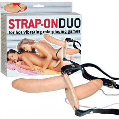 Страпон Strap-on DUO