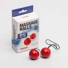 Вагинальные шарики SITABELLA пластик красные 3,5 см
